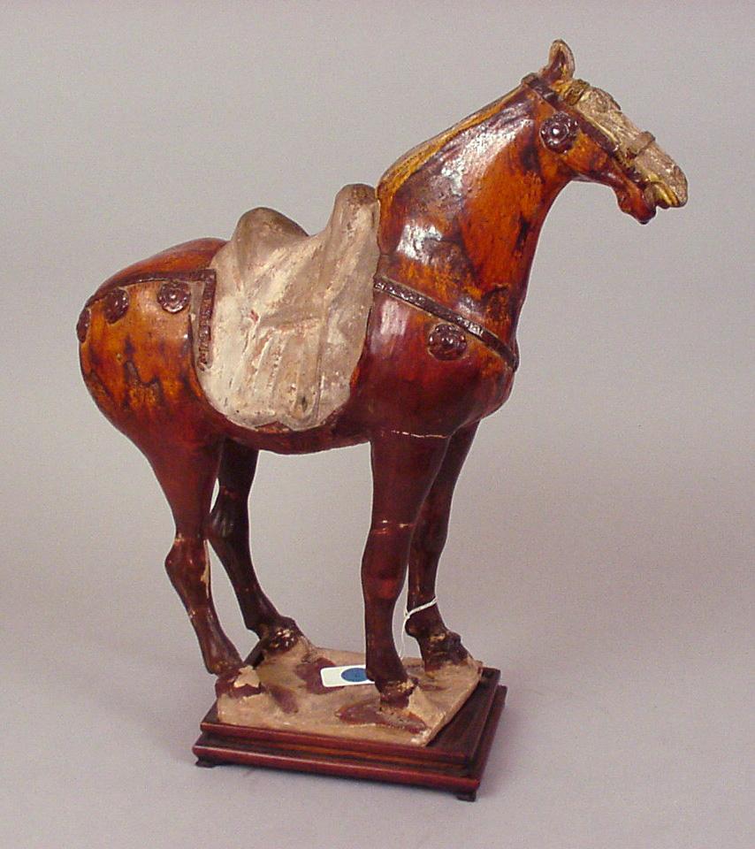 Ceramic Horse. Tang Dynasty (618 - 907)