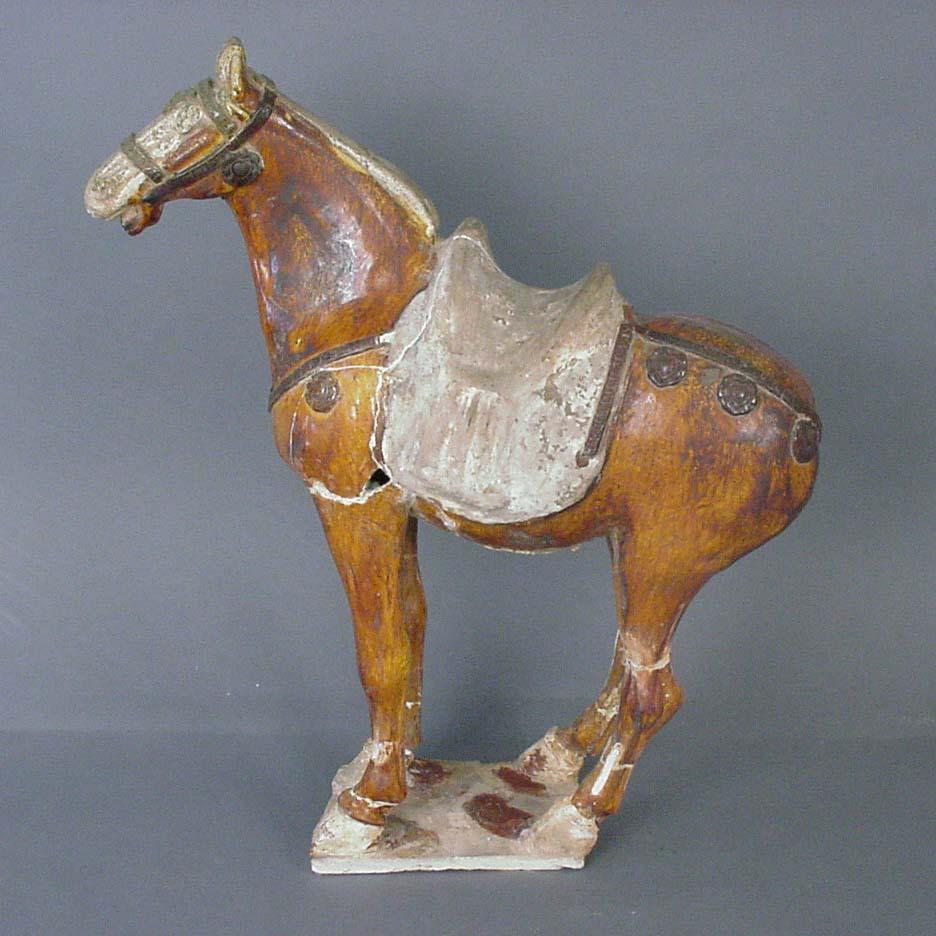 Ceramic Horse. Tang Dynasty (618 - 907)2