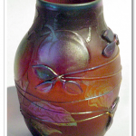 Daum Nancy glass vase