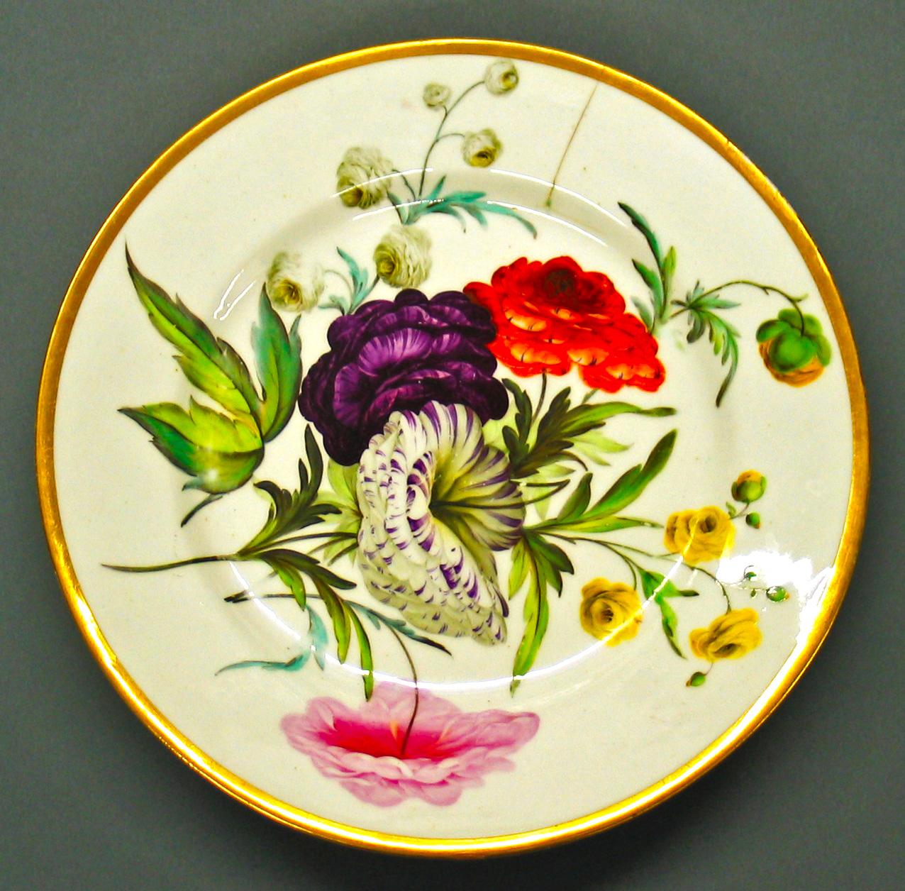 Derby Porcelain Plate