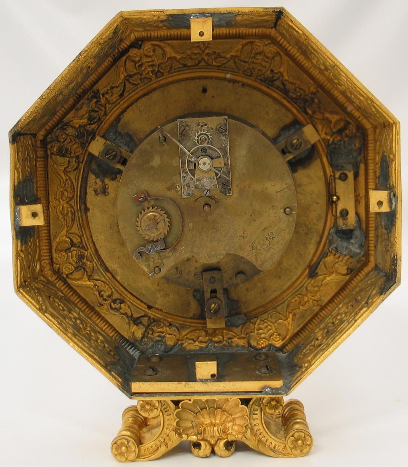 E.F. Caldwell Clock
