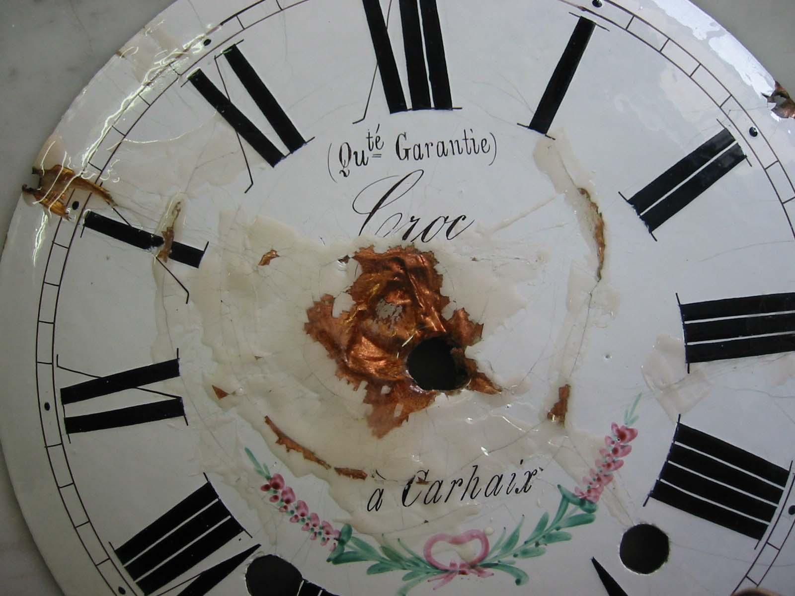 Enamel Clock Fase