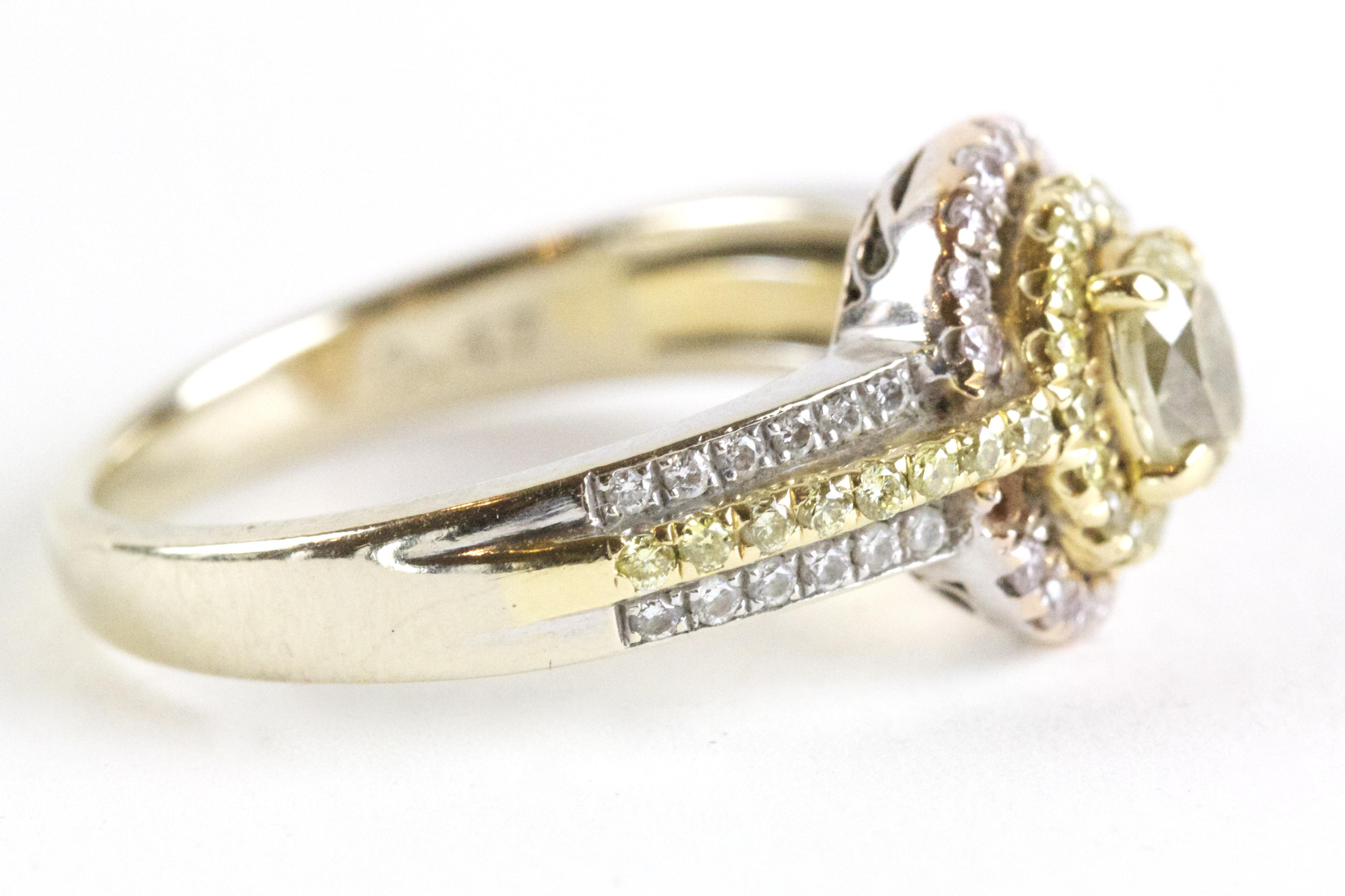 Gold and Diamonds Ring. Jewelry Repair