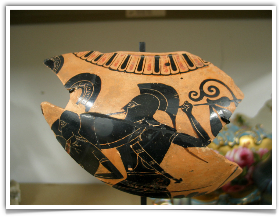 Greek Pottery Fragment