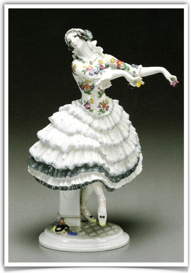 Meissen porcelain. Balerina