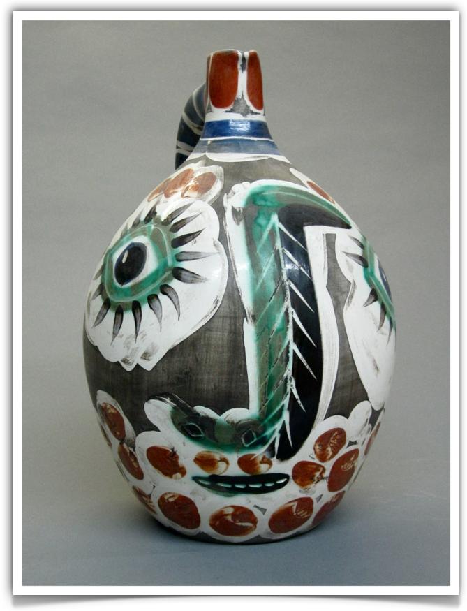 Pablo Picasso Ceramic Jug