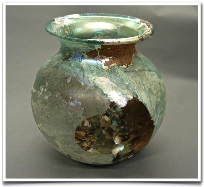 Roman Glass Vase