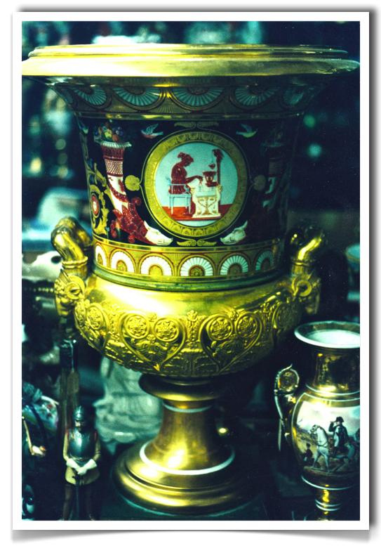 Russian Iperial Porcelain Factory Urn