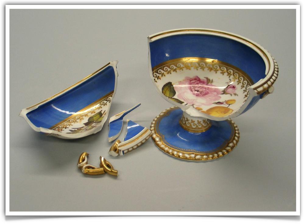 Worcester Porcelain Chamberlain Period Compot