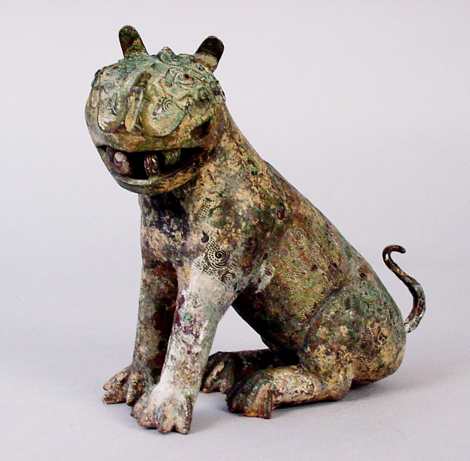Ancient Chinese Bronze Tiger copy