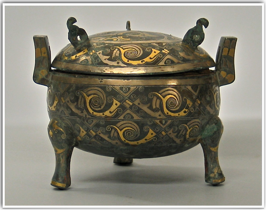 Ancient Chinese Bronze Vessel-1