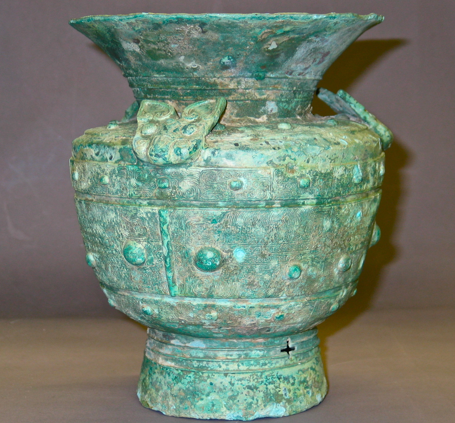 Ancient Chinese Bronze Vessel