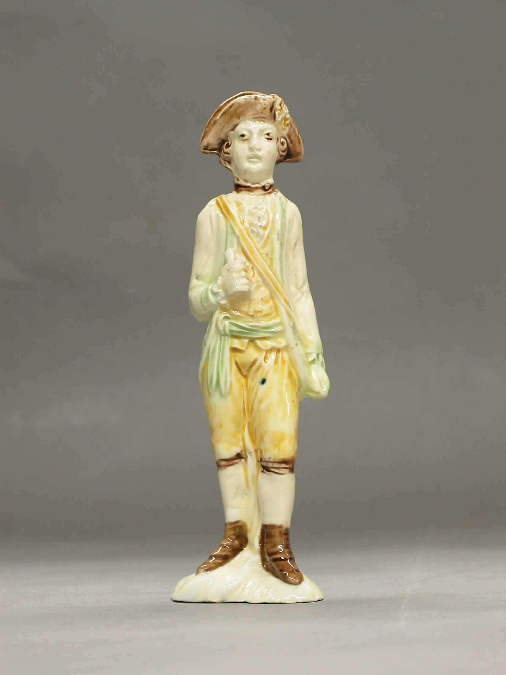 Astbury-Whieldon Figure of a Messenger, ca. 1745