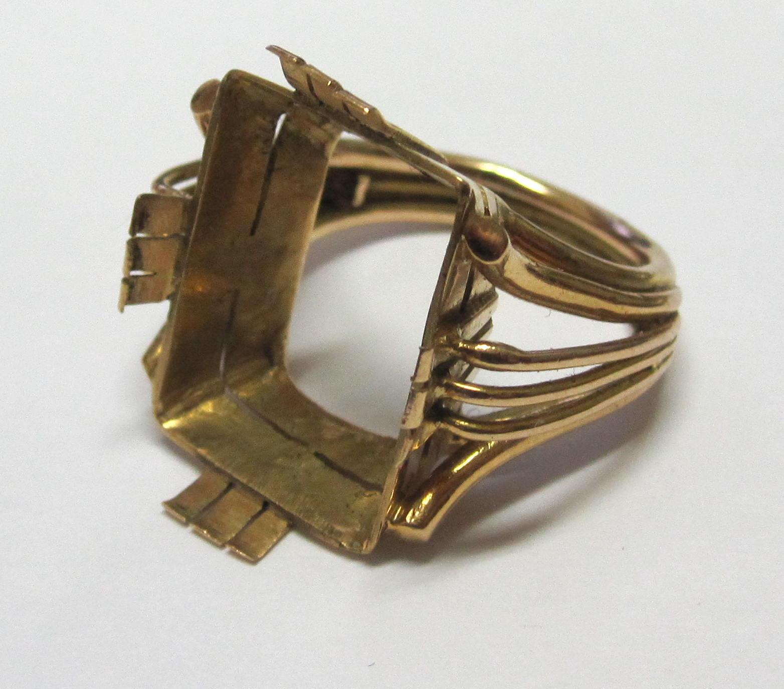Broken Gold Ring