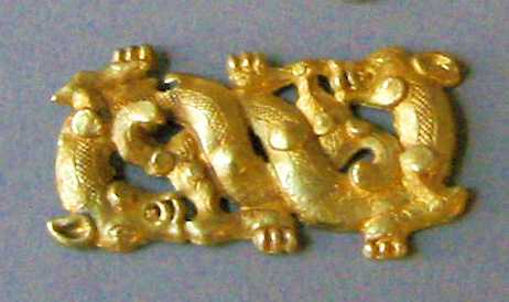 Chinese Gold Ornament