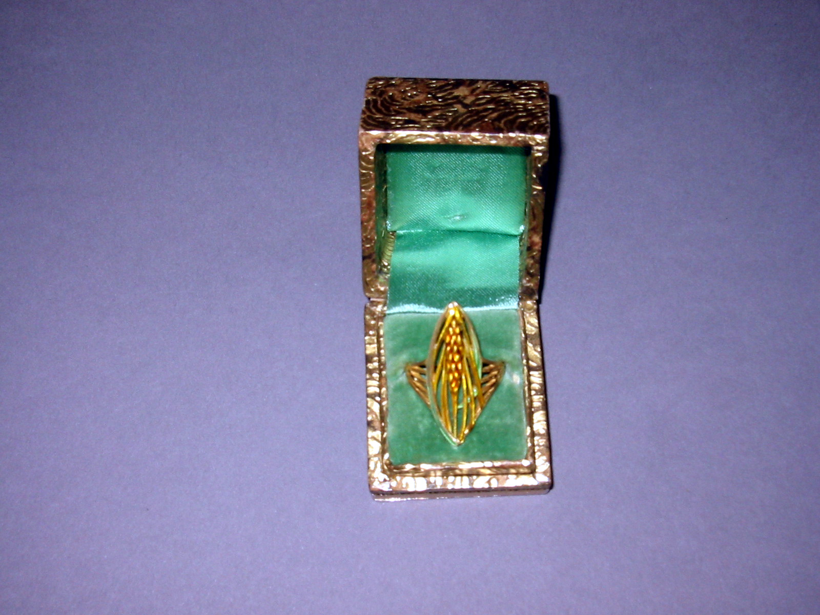 French Enamel Ring. Jewelry Repair