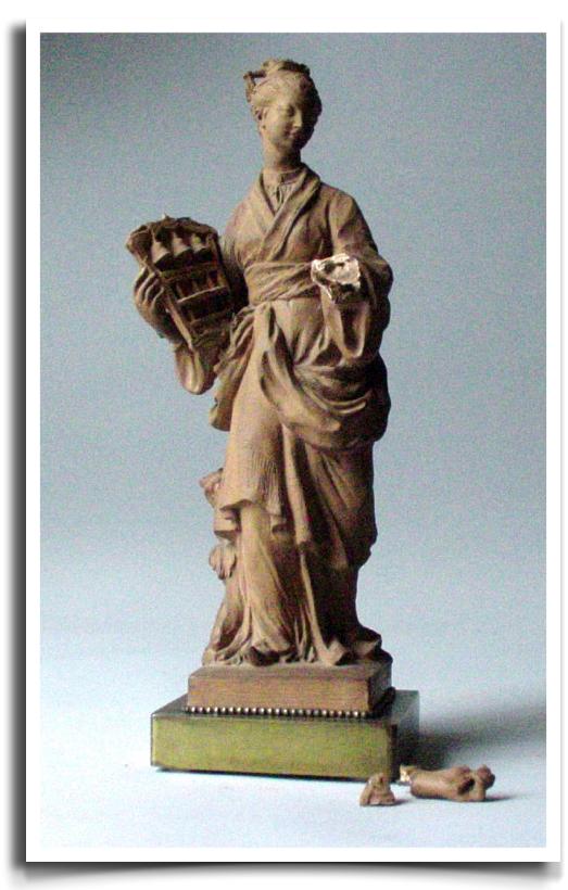 French Terra Cotta Sculpture