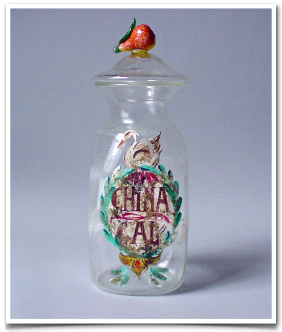 Glass Apothecary Jar. Glass Restoration and Conservation