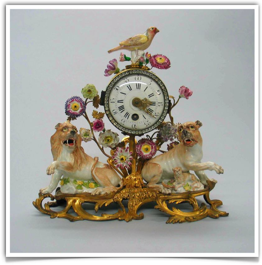Meissen Porcelain and French Ormolu