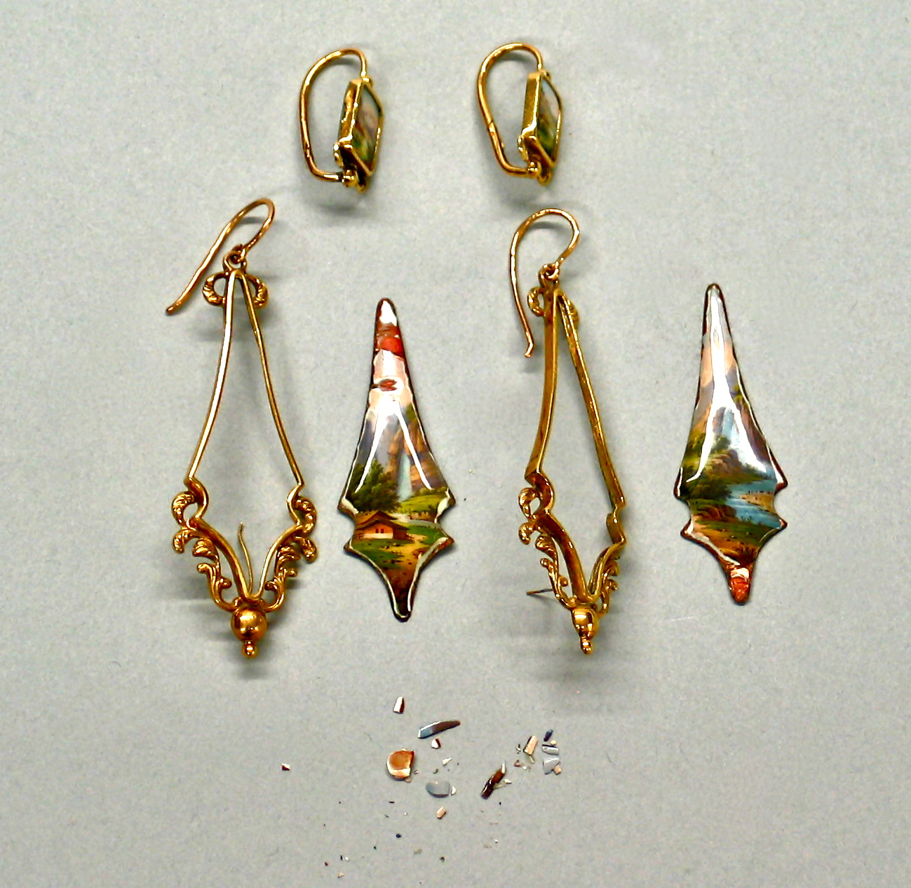 Pair of Earrings. Jewelry Repair and Restoration.