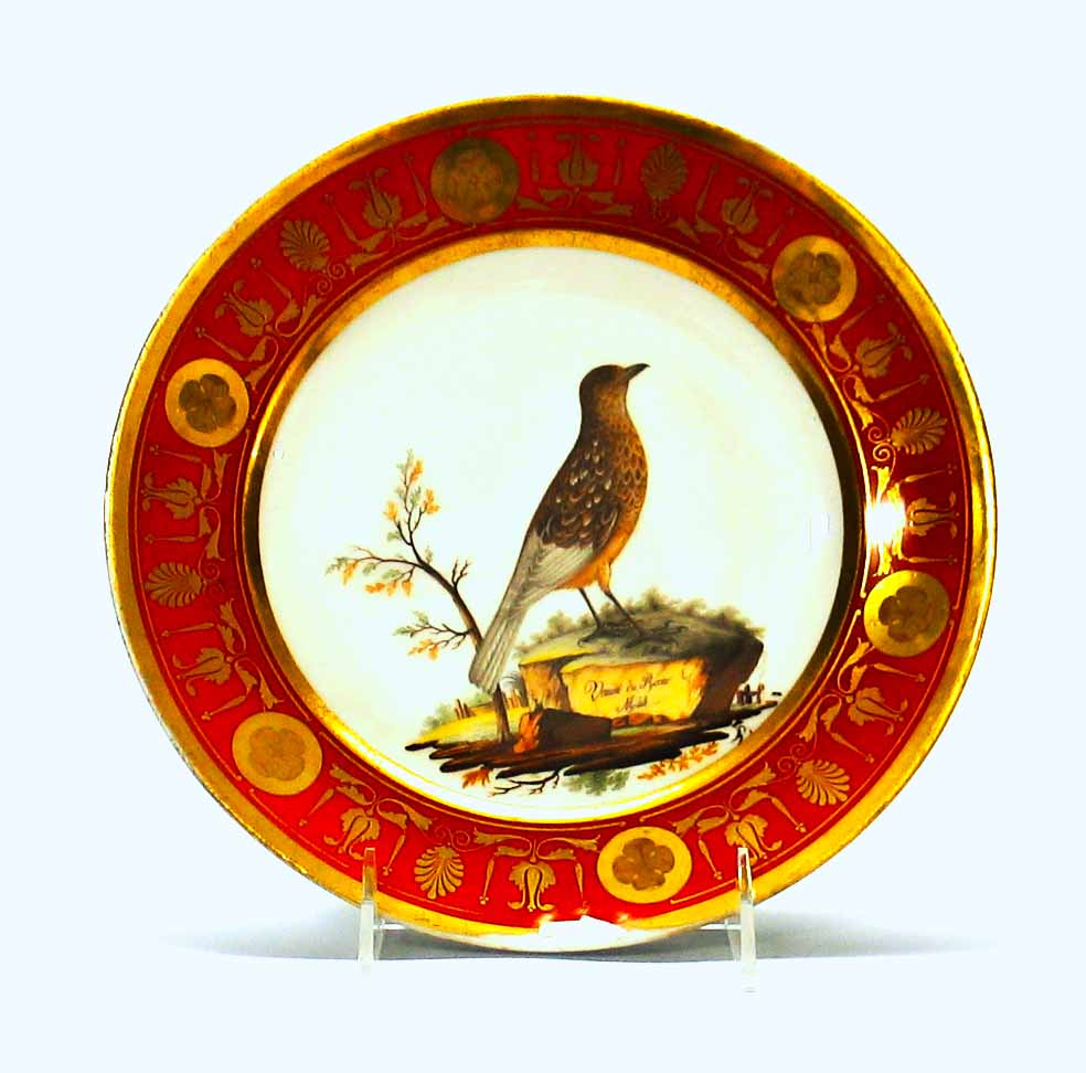 Paris porcelain plate