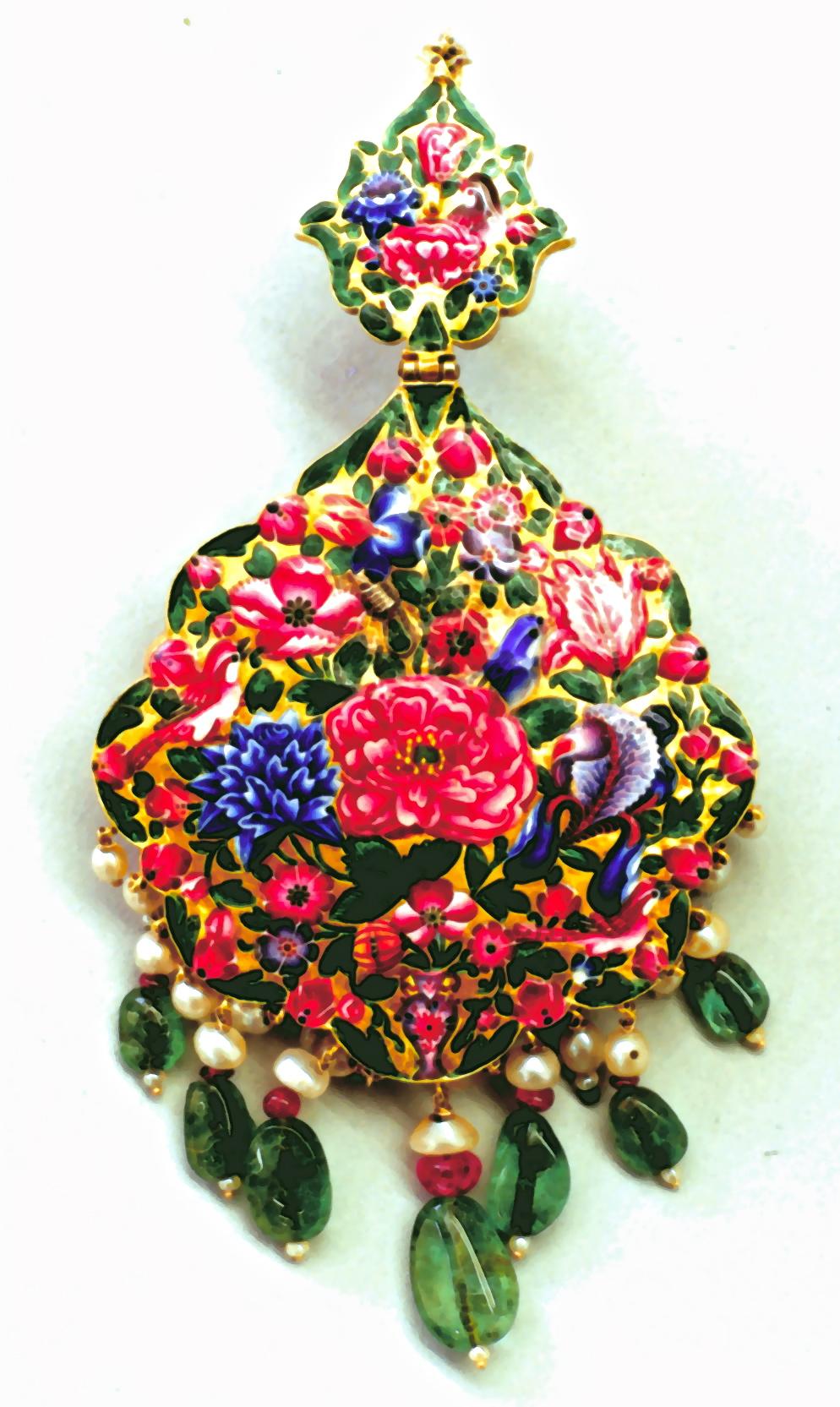Persian Turban Orname copy. Jewelry Repair and Restoration.