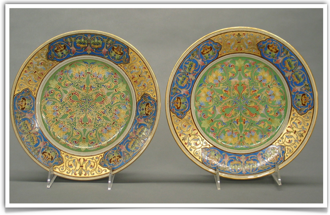 Russian Porcelain Kornilov Brothers Factory