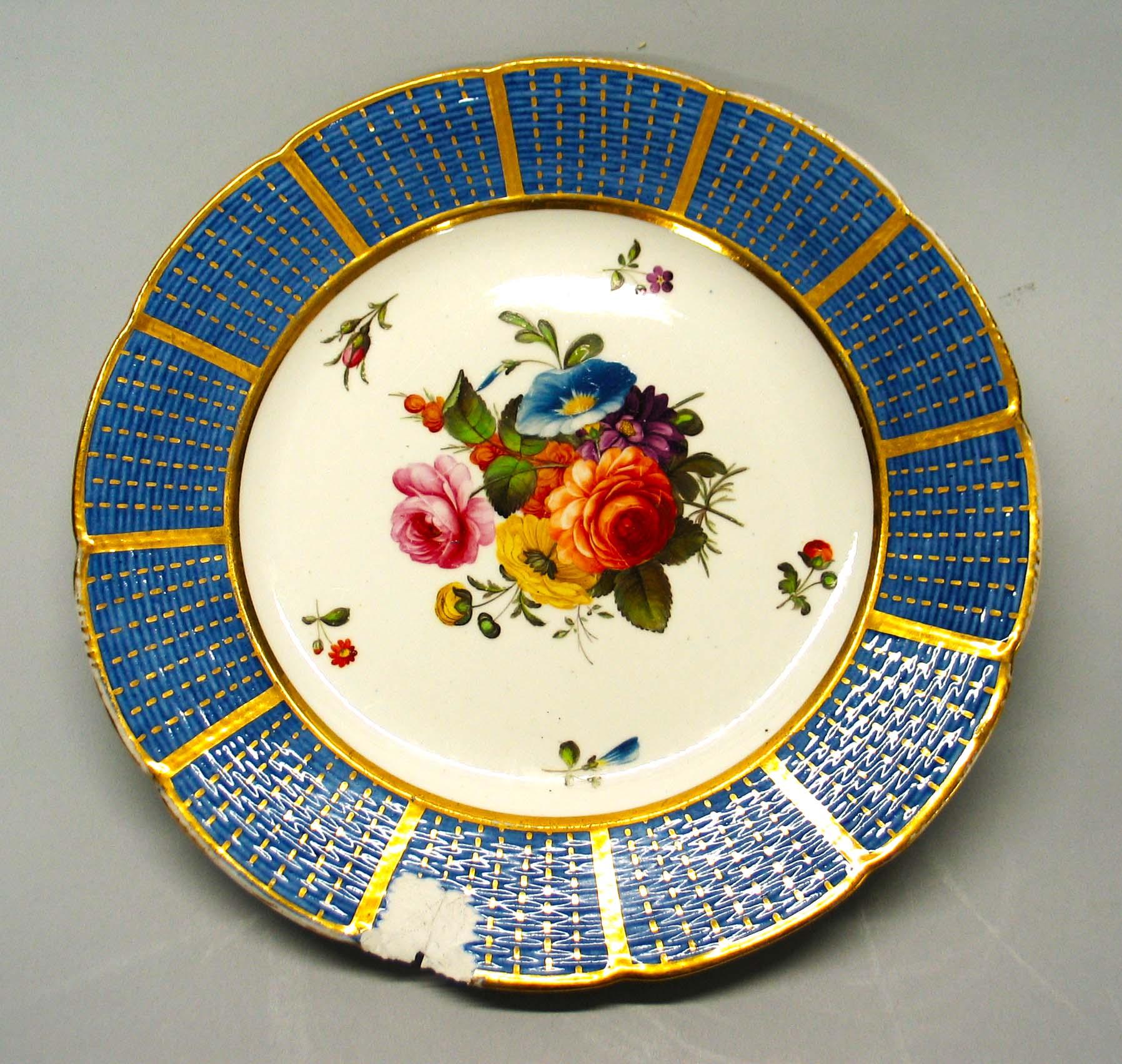 Spode porcelain plate
