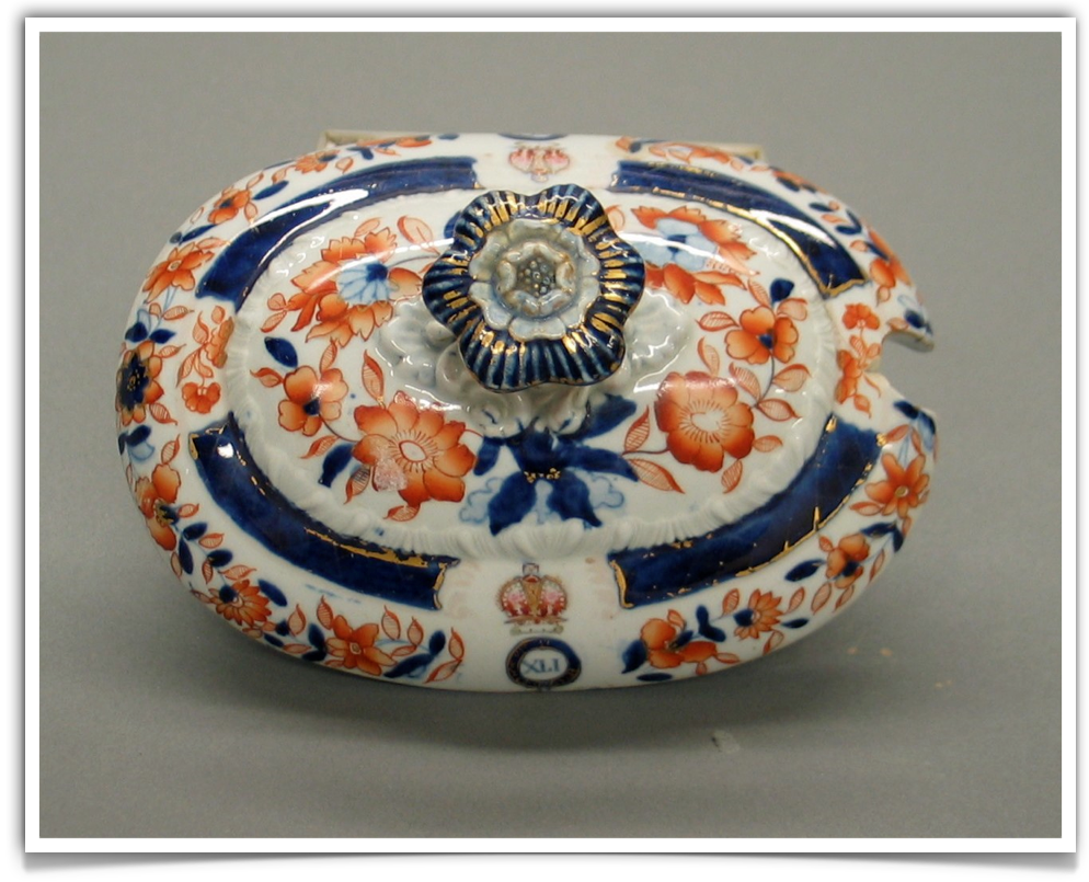 Stafordshire Tureen Cover
