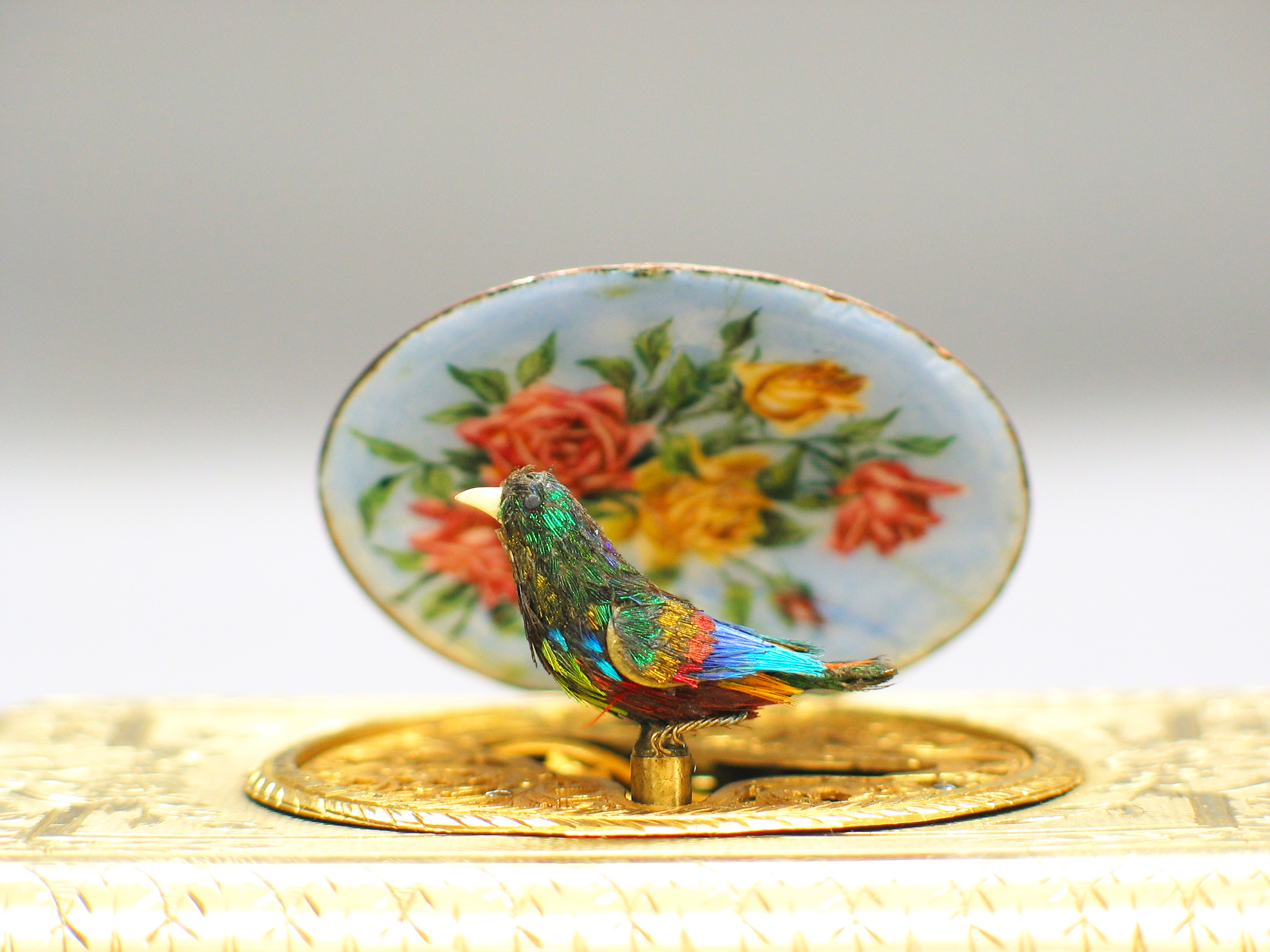 Swiss Enamel Bird Box