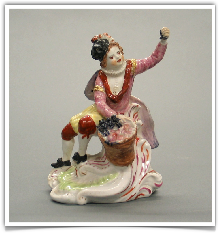 The Chelsea porcelain manufactory. Gold anchor period (AD 1756-1769)