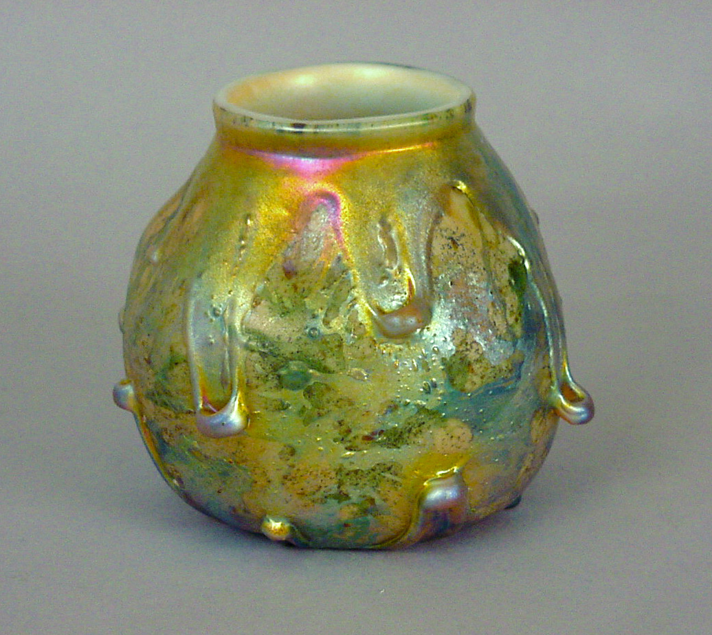 L.C. Tiffany Glass Vase