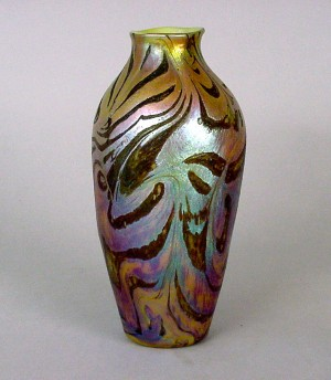 Tiffany Glass Vase