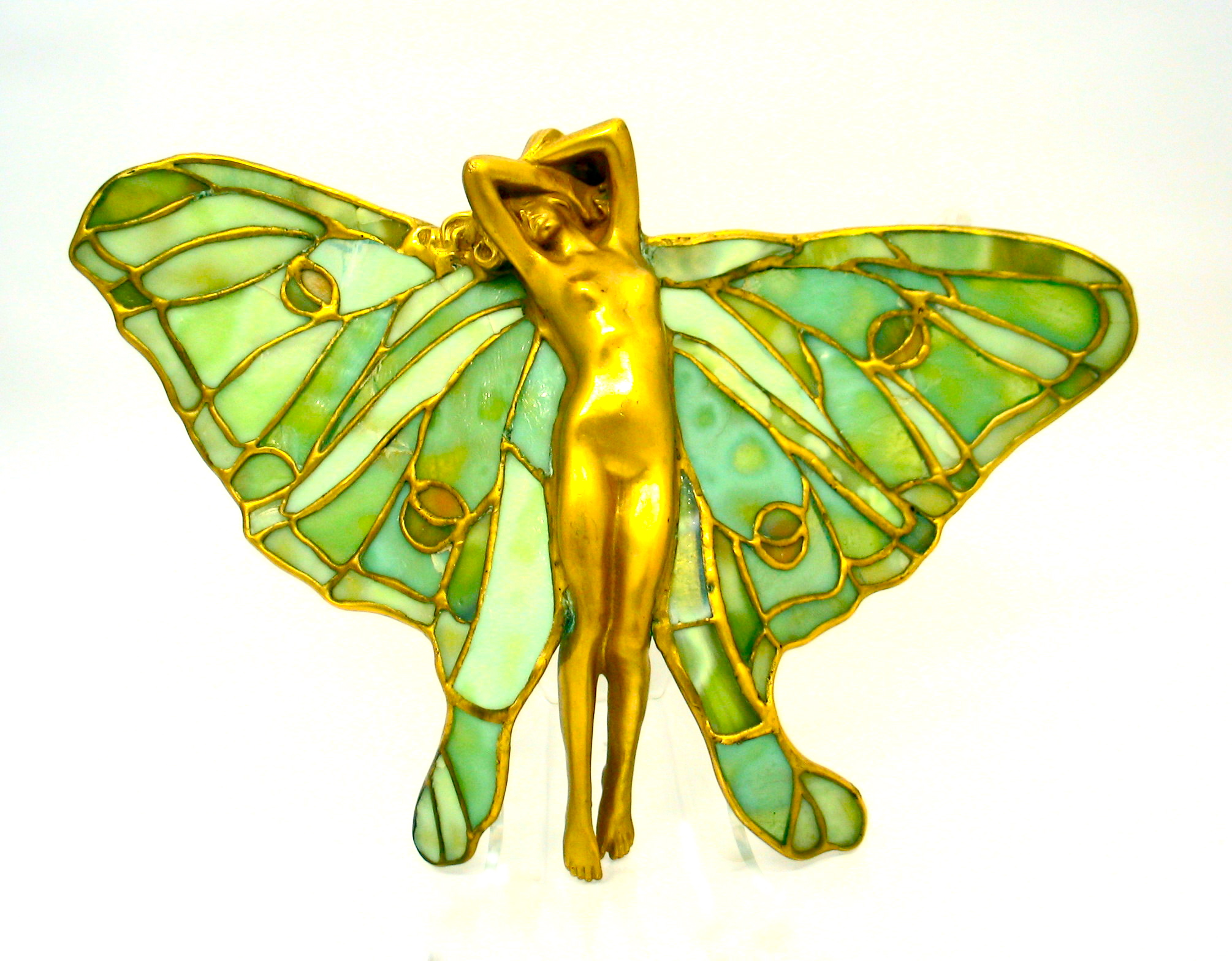 L.C. Tiffany Stained Glass Ornament