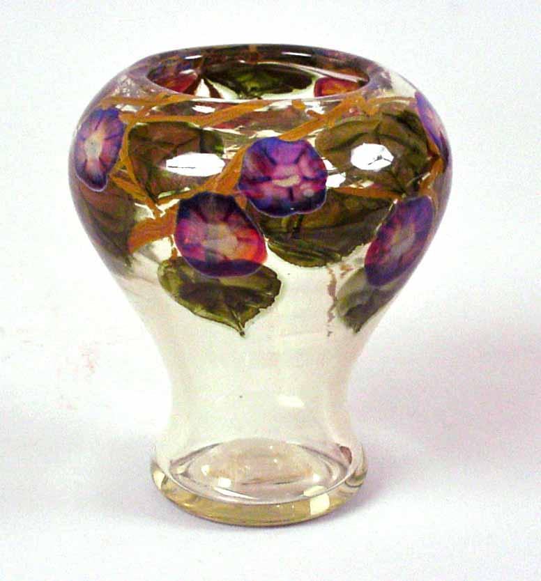 Tiffany Favrile Glass Vase Antiques Restoration