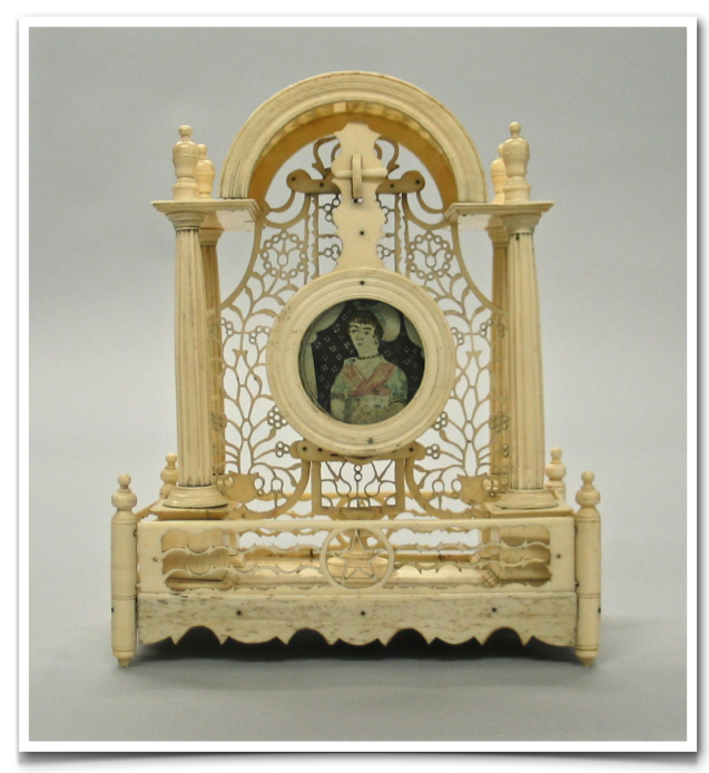 Watch Stand. Ivory