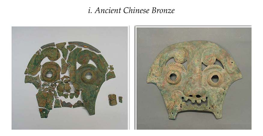 Restoration of Ancient Chinese Bronze.