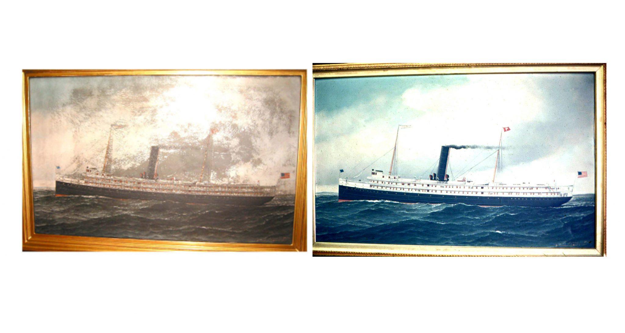 Restoration of Paintings.